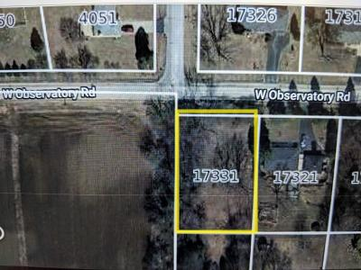 Residential Lots & Land For Sale: 17331 W Observatory Rd