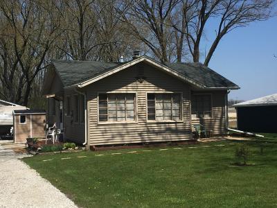 Palmyra Single Family Home For Sale: W1332 N Blue Spring Lake Dr