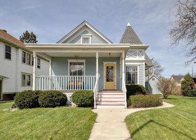 Racine Single Family Home Active Contingent With Offer: 3416 Washington Ave