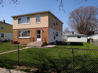South Milwaukee Two Family Home Active Contingent With Offer: 616 Columbia Ave