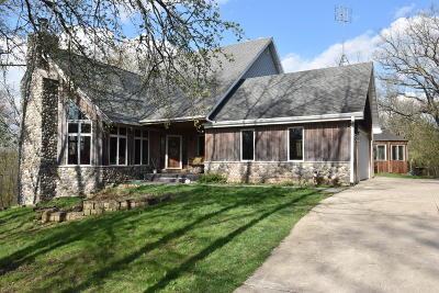 Elkhorn Single Family Home Active Contingent With Offer: N6306 State Road 120