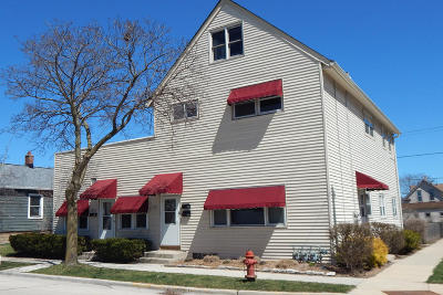 Milwaukee Multi Family Home Active Contingent With Offer: 2390 2394 S Lenox St