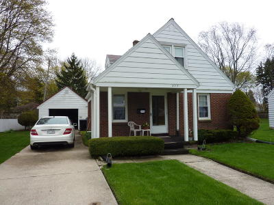 Racine Single Family Home Active Contingent With Offer: 2015 Webster Street