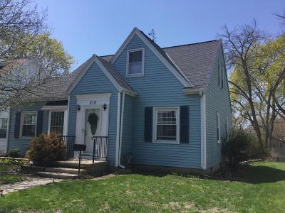 West Bend Single Family Home For Sale: 210 S 11th Ave