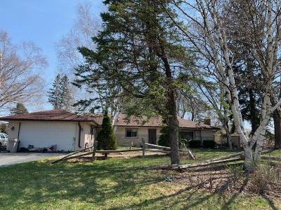 Cedarburg Single Family Home Active Contingent With Offer: W76n1002 Wauwatosa Rd