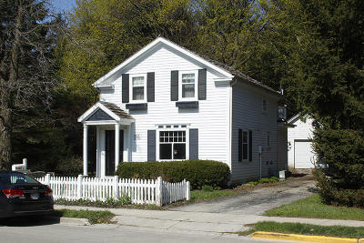 Cedarburg Single Family Home For Sale: W63n765 Sheboygan Rd