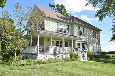 Racine County Single Family Home For Sale: 20812 Plank Rd