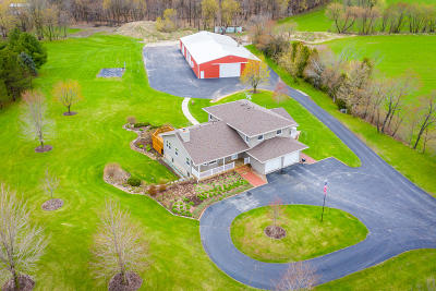 Jefferson County Single Family Home For Sale: N6143 County Road P