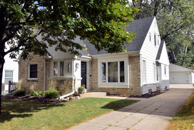 Single Family Home Active Contingent With Offer: 2354 N 84th St