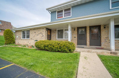 West Bend Condo/Townhouse Active Contingent With Offer: 1824 Miller St #A