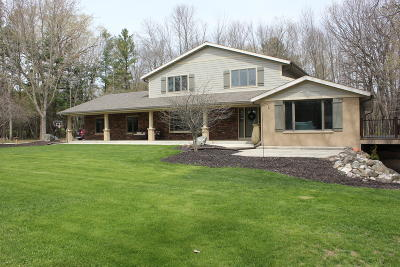 Sheboygan Single Family Home For Sale: W1798 Aspen Trl