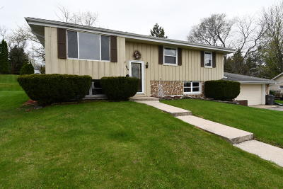 West Bend Single Family Home Active Contingent With Offer: 1215 Adams