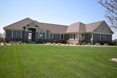 Racine County Single Family Home Active Contingent With Offer: 8211 Stone Creek Way