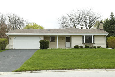 Mukwonago Single Family Home Active Contingent With Offer: 1128 Rainbow Ct