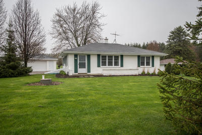 Saukville Single Family Home Active Contingent With Offer: 2927 County Road I