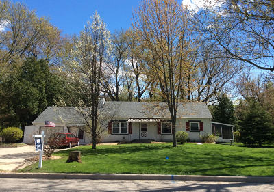 Single Family Home Active Contingent With Offer: 233 E State Road