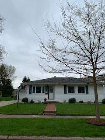 Waukesha Single Family Home Active Contingent With Offer: 1969 Jan Ave