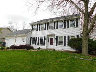 Waukesha Single Family Home Active Contingent With Offer: 2449 Brentwood Dr