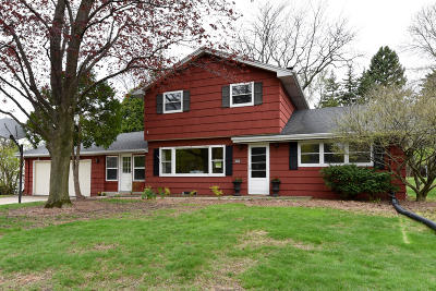 Single Family Home Active Contingent With Offer: 3283 N 107th St