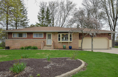 Brookfield Single Family Home Active Contingent With Offer: 19260 Brookdale Dr