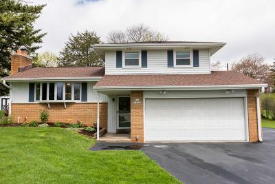 Menomonee Falls Single Family Home Active Contingent With Offer: N51w16590 Fair Oak Ct