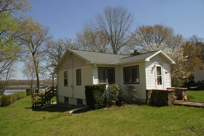 Delavan Single Family Home Active Contingent With Offer: 404 Inlet Shore Dr