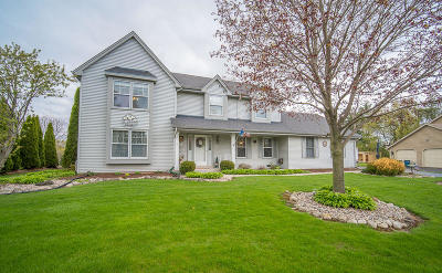 Menomonee Falls Single Family Home Active Contingent With Offer: W153n5324 Plaza Dr