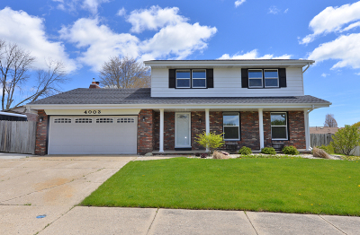Kenosha County Single Family Home Active Contingent With Offer: 4003 53rd Ave