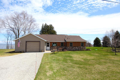 Menominee Single Family Home For Sale: N2378 Hwy M-35