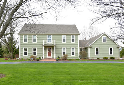 Mequon Single Family Home Active Contingent With Offer: 11637 N Riverland Rd