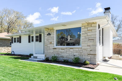 Menomonee Falls Single Family Home Active Contingent With Offer: W172n8716 Shady Ln