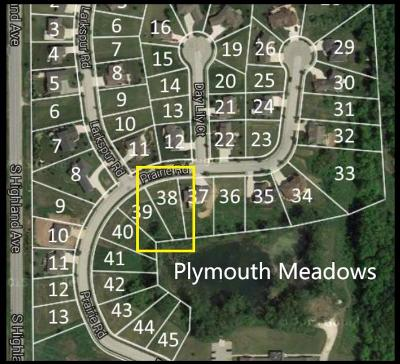 Plymouth Residential Lots & Land For Sale: Lt 38 Prairie Rd