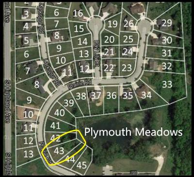 Plymouth Residential Lots & Land For Sale: Lt 43 Prairie Rd