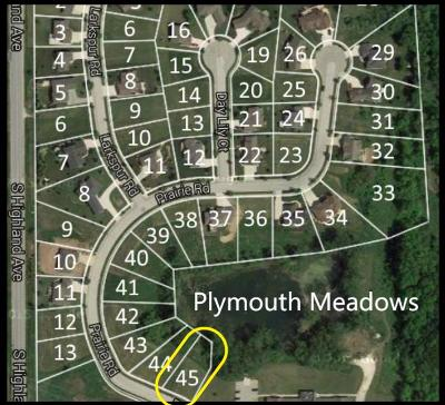 Plymouth Residential Lots & Land For Sale: Lt 45 Prairie Rd