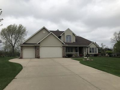 Kenosha County Single Family Home Active Contingent With Offer: 24928 113th St