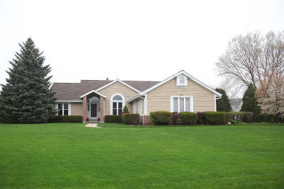 Menomonee Falls Single Family Home Active Contingent With Offer: N66w14452 White Birch Dr