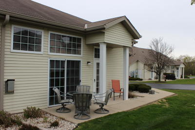 Waukesha Condo/Townhouse Active Contingent With Offer: 2420 Fox River Pkwy #F