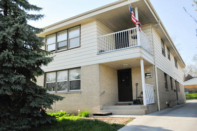 West Allis Multi Family Home Active Contingent With Offer: 8754 W Lapham St #8754A-87