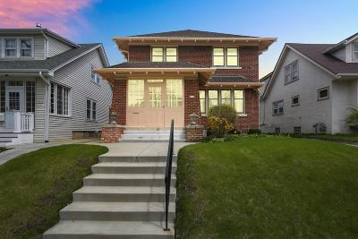 Shorewood Single Family Home Active Contingent With Offer: 3828 N Farwell Ave
