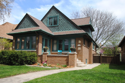 Wauwatosa Single Family Home Active Contingent With Offer: 2450 N 64th St