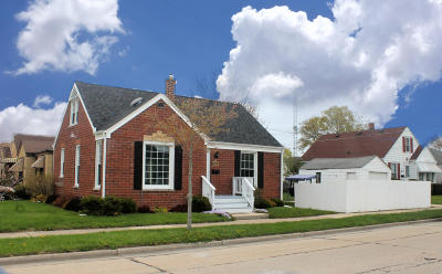 Racine Single Family Home Active Contingent With Offer: 1122 Isabelle Ave