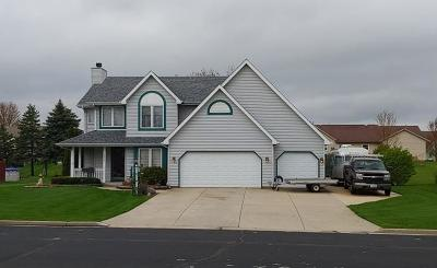 Racine County Single Family Home Active Contingent With Offer: 1032 Shagbark Ln