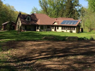 Holmen Single Family Home Active Contingent With Offer: N8274 Amundson Coulee Rd