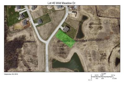 Sheboygan Residential Lots & Land For Sale: Lt45 Wild Meadow Dr