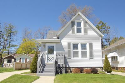Racine Single Family Home Active Contingent With Offer: 1120 Monroe Ave