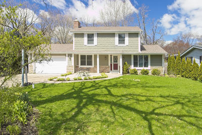 Pleasant Prairie WI Single Family Home Active Contingent With Offer: $322,000