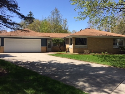 Milwaukee County Single Family Home For Sale: 6897 N Seville Ave