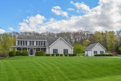 Richfield, Hubertus Single Family Home Active Contingent With Offer: 4585 Kerechun Rd