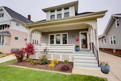 Wauwatosa Single Family Home Active Contingent With Offer: 2160 N 61st St