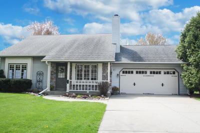 Single Family Home Active Contingent With Offer: N62w23963 Sunset Dr